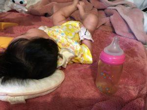 3か月の赤ちゃんとミルクの量
