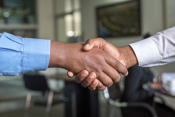 ビジネス|握手